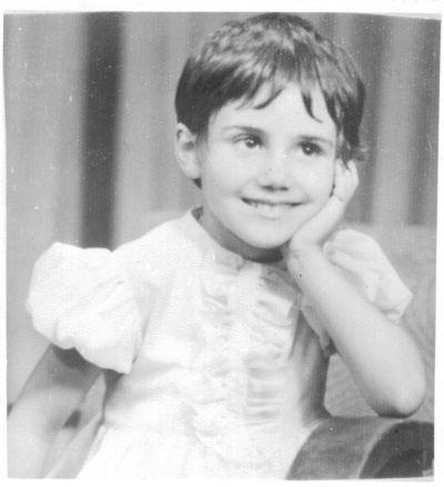 Петя Дубарова на 5 години - Къща музей Петя Дубарова - Бургас
