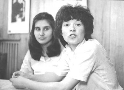 """Петя и Таня Шахова - репродукция от филма """"Трампа"""",1978г - Къща музей Петя Дубарова - Бургас"""