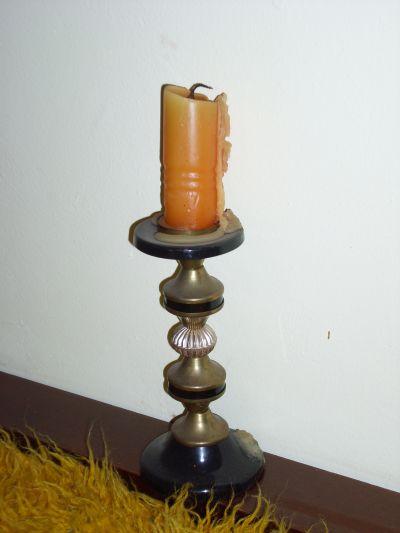 Свещник / в стаята на Петя / - Къща музей Петя Дубарова - Бургас