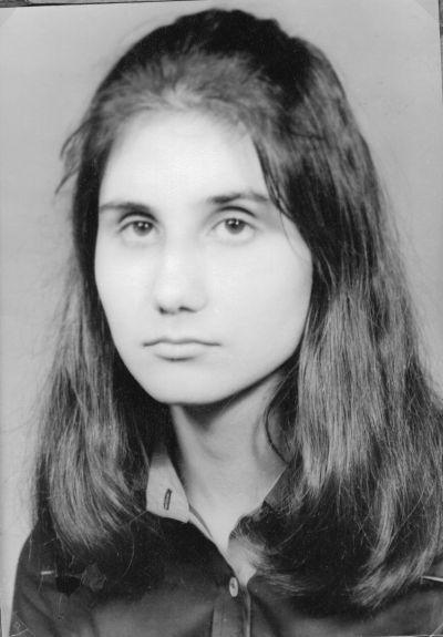 Паспортна снимка на Петя-на 16 години - Къща музей Петя Дубарова - Бургас